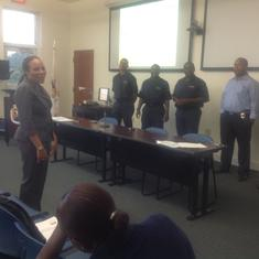 VIUCEDD Associate Director, Dr. Kimberly Mills Designs and Delivers Disability Awareness Training for U.S. Virgin Island Law Enforcement Officers